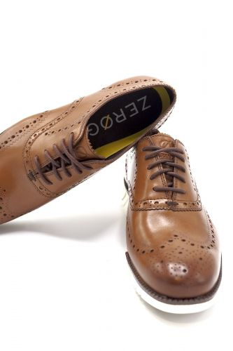 Cole Haan molière Naturel hommes (ColeHaan-Zero Ground sem. claire - C14493 molière cognac uuu beig) - Marine | Much more than shoes