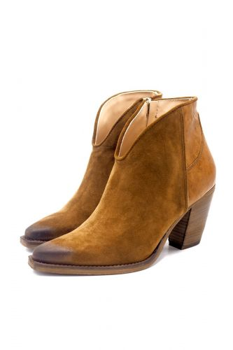 Curiositè boots Naturel femmes (CURI-Santiag simple - 1511 Tiag unie Whiskey) - Marine | Much more than shoes