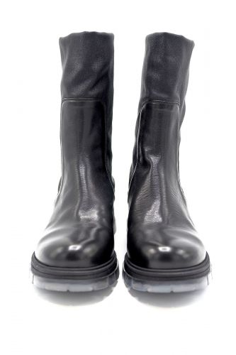 Fru.it boots Noir femmes (Fru.it-Biker semelle translucide - 6502 Boots biker grosse semell) - Marine | Much more than shoes