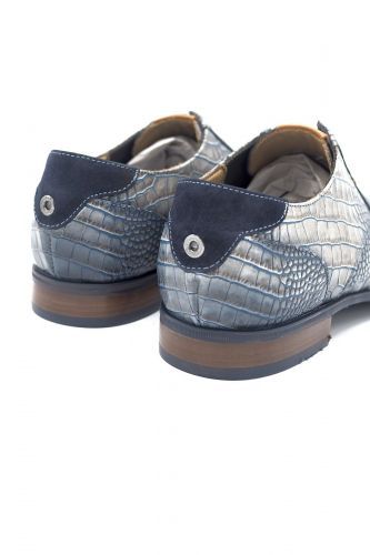 Giorgio 1958 molière Bleu hommes (GG1958-Classic lacet - 964145 classic crocco BLU) - Marine | Much more than shoes