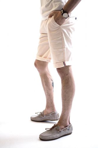 Hero Seven short Rose hommes (HERO7-Chino short - E21301 Short blossom rose) - Marine | Much more than shoes