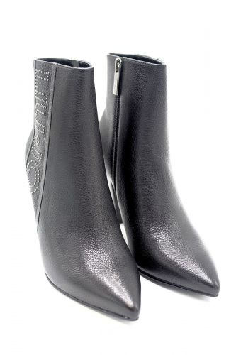 Liu Jo Chaussures boots Noir femmes (Liu Jo Shoe-Boots clous - SUZIE Boots noir cuir clous) - Marine | Much more than shoes