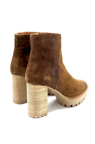 Pedro Miralles boots Camel femmes (PM-Boots talon haut & large - 28879 Boots daim tabac) - Marine | Much more than shoes