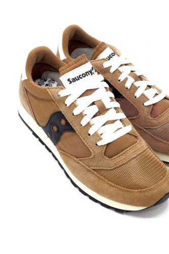 Saucony basket bas Brun-multi femmes (SAUC-Runner basic Unisex - S60368 Unisex brown/black) - Marine | Much more than shoes