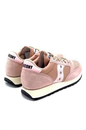 Saucony basket bas Rose femmes (SAUC-Runner basic Woman - S60368 vintage PINK) - Marine | Much more than shoes