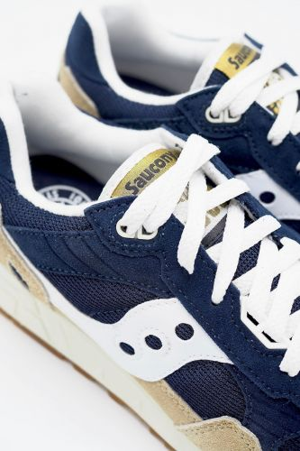 Saucony basket bas Bleu-multi unisex (SAUC-Runner Techn.men - S70404 SHADOW Navy/blanc) - Marine | Much more than shoes