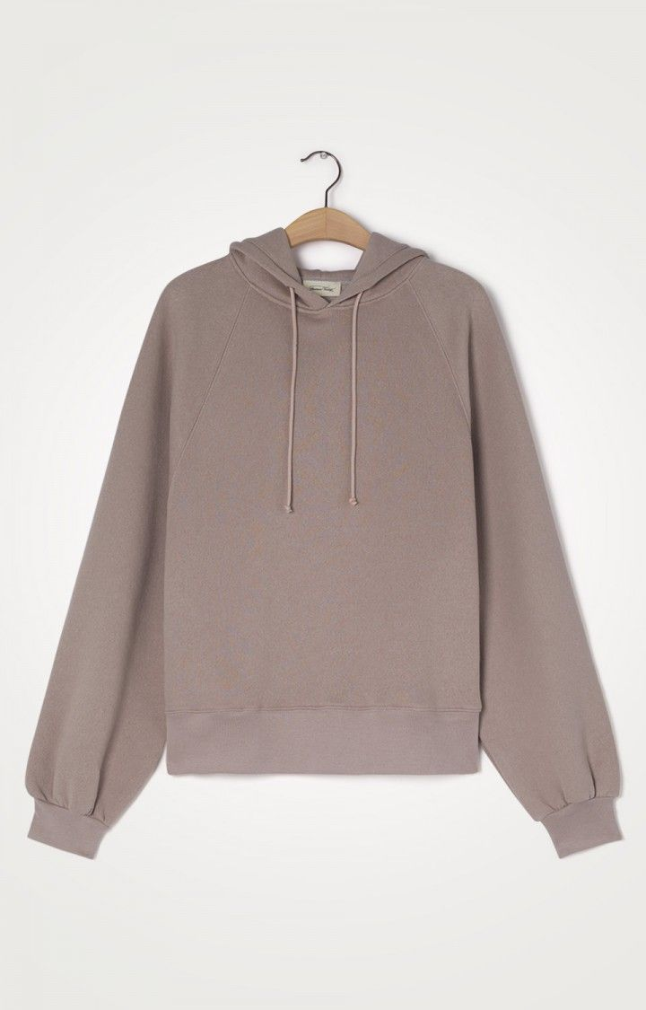 American Vintage pull Taupe femmes (AMER-Sweat - IKA03A Sweat café) - Marine | Much more than shoes