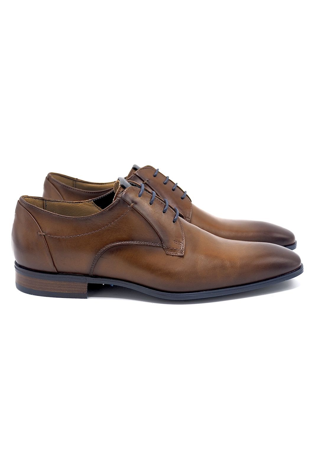 Giorgio 1958 molière Naturel hommes (GG1958-Classic lacet - 964134 fine lacet cognac) - Marine | Much more than shoes