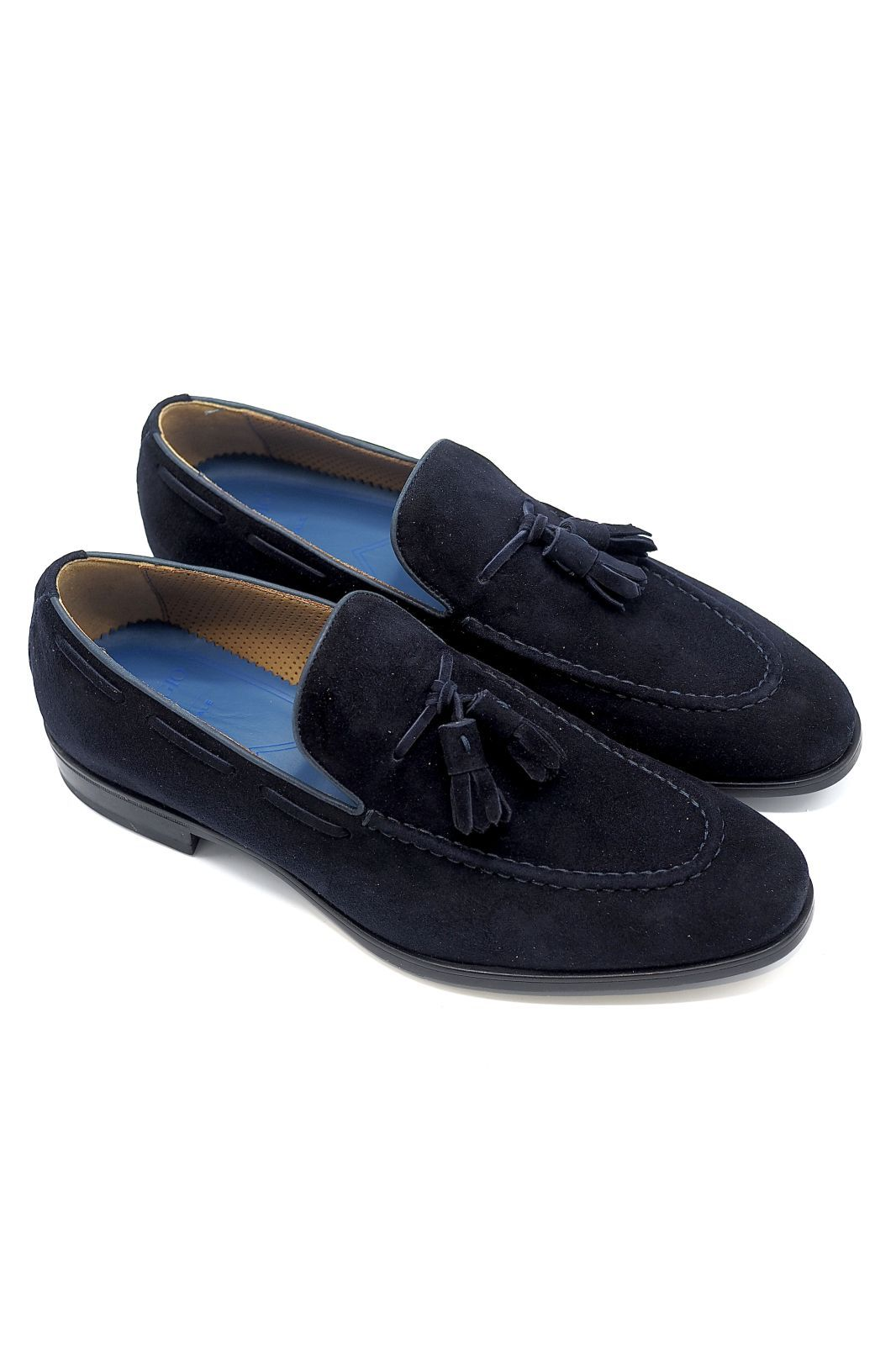 Giorgio 1958 mocassin Bleu hommes (GG1958-Collège - 50502 COLLEGE Blu) - Marine | Much more than shoes