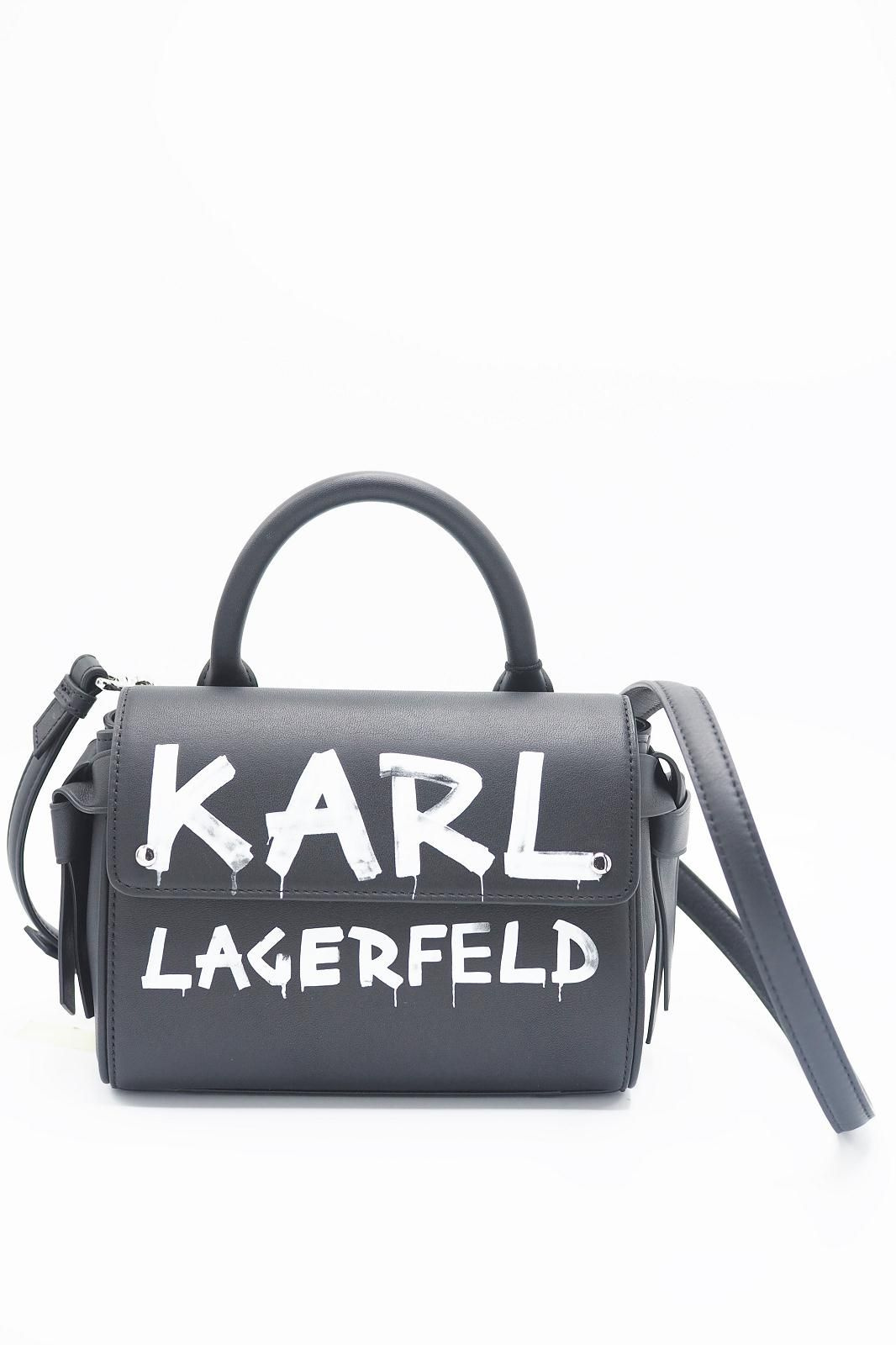 Karl Lagerfeld sac Noir femmes (KL-Sac Rock graffittis rabat - 3059 sac Rock Graffitis blanc) - Marine | Much more than shoes