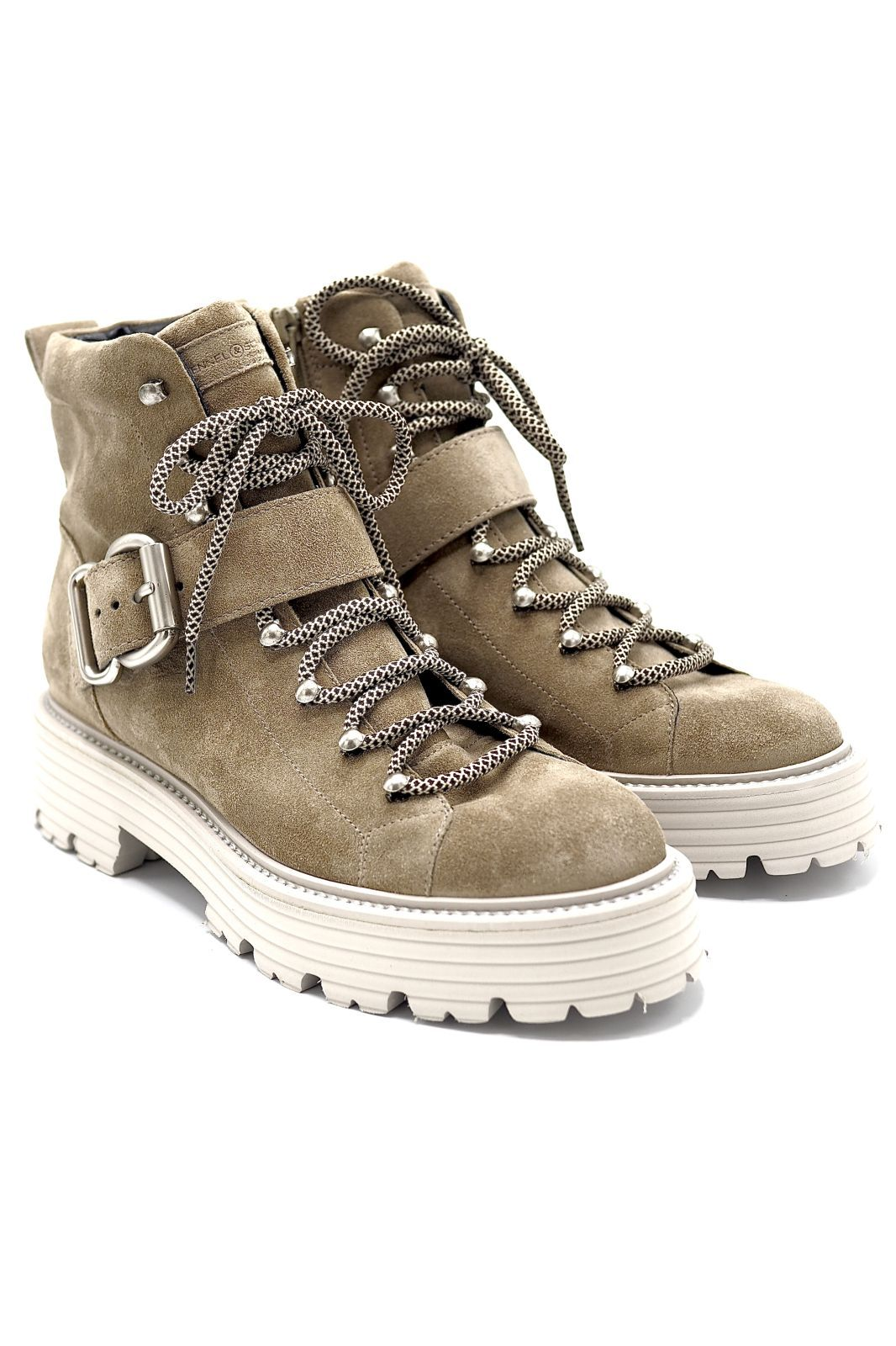 Kennel&Schmenger bottine Taupe femmes (K&S-Biker + boucle - 41-34540 Biker daim taupe clai) - Marine | Much more than shoes