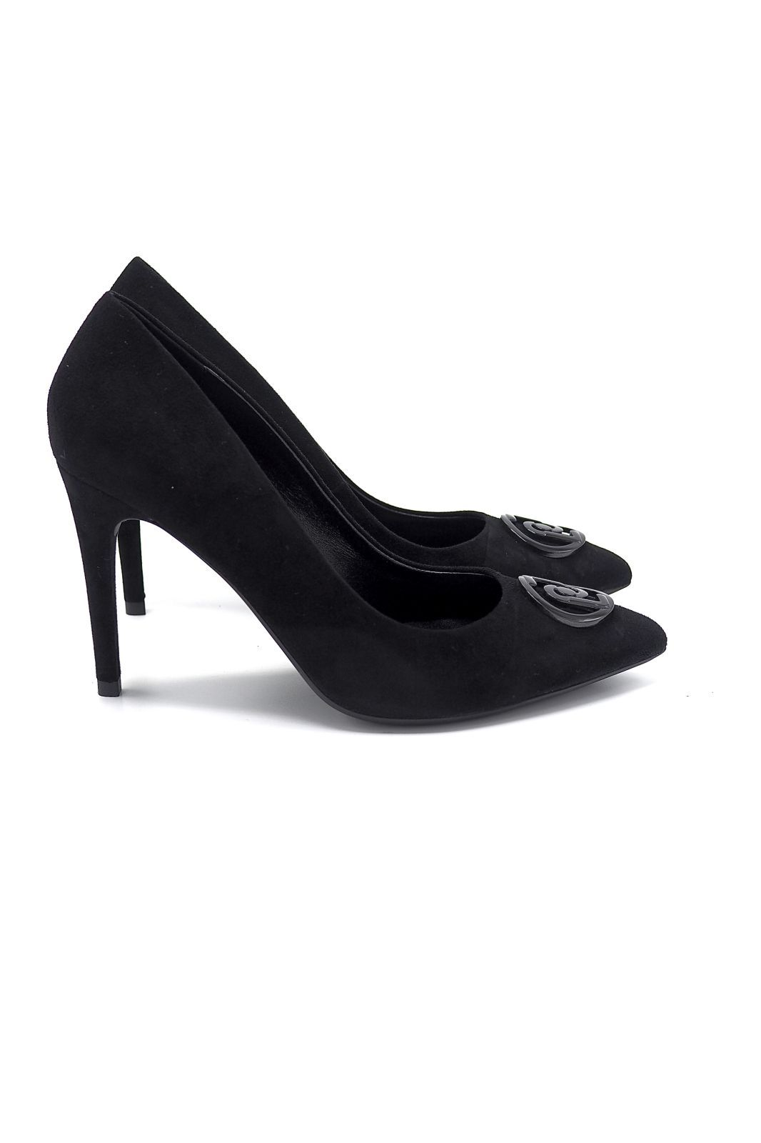 Liu Jo Chaussures escarpin Noir femmes (Liu Jo Shoe-Epin noir - VICKIE Escarpin nubuk noir) - Marine | Much more than shoes