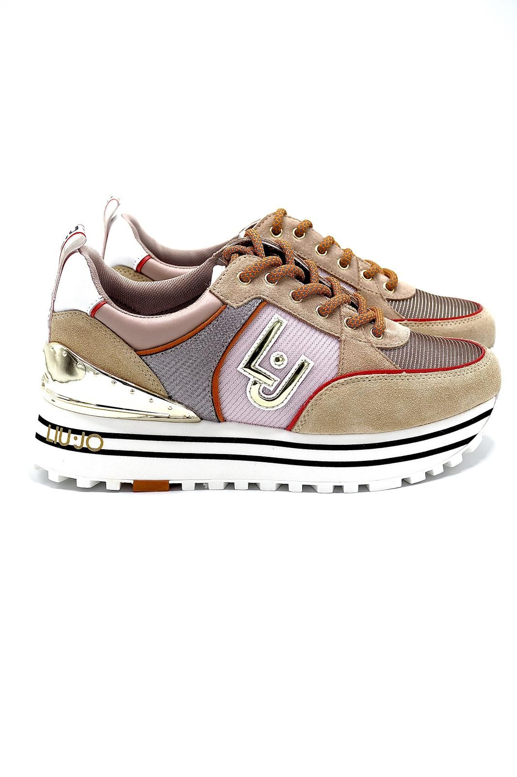 Liu Jo Chaussures basket bas Nude femmes (Liu Jo Shoe-Runner GS nude - MAXI WONDER nude/beige) - Marine | Much more than shoes