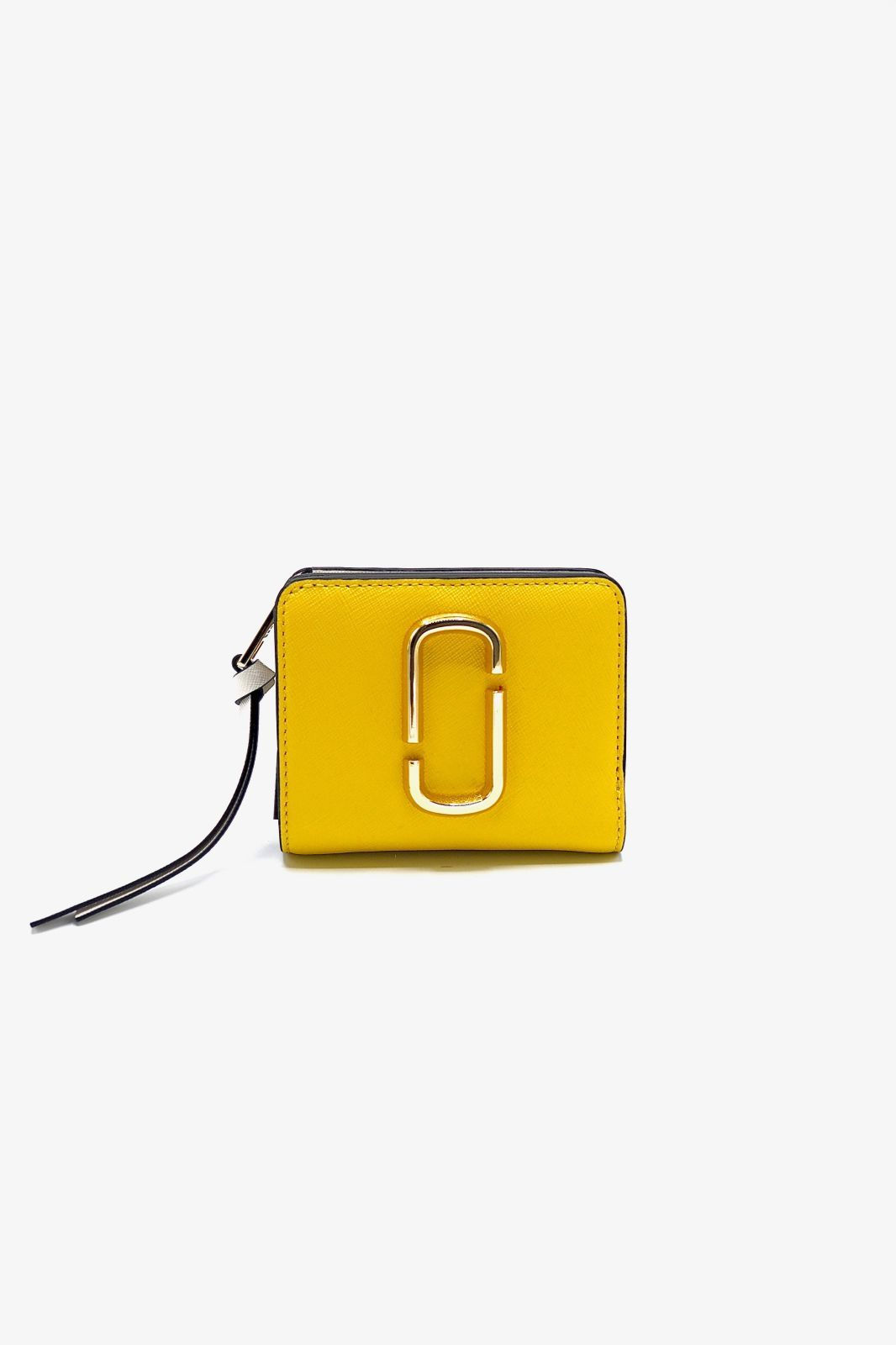 Marc Jacobs porte feuilles Jaune femmes (MJACOBS-Mini PF Banana - 13360-756 Mini Wallet Plantain) - Marine | Much more than shoes