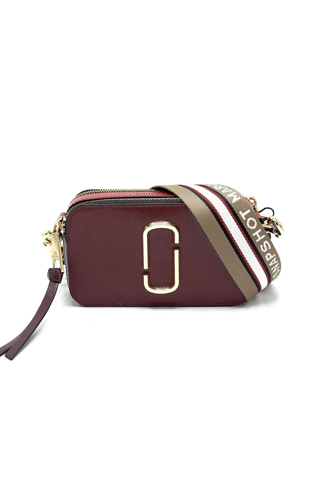 Marc Jacobs sac Bordeau femmes (MJACOBS-Snapshot bordeaux  - SNAPSHOT 21 12007-940 cranberr) - Marine | Much more than shoes