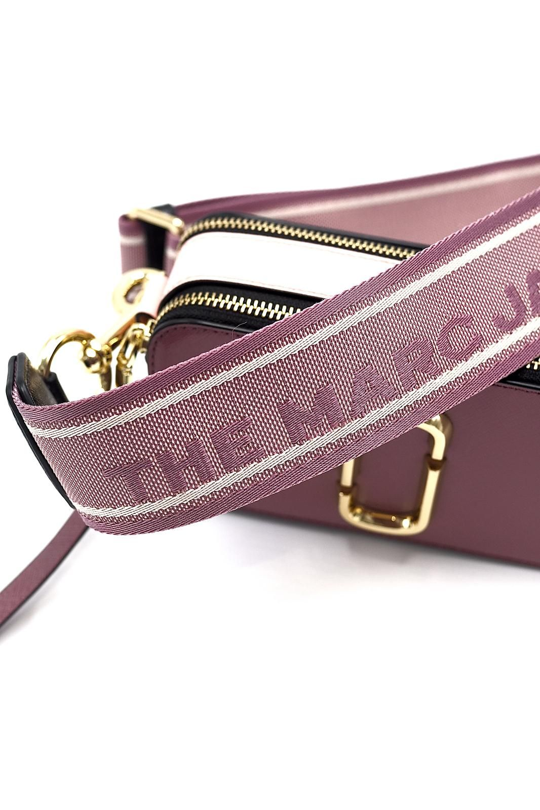 Marc Jacobs sac Rose femmes (MJACOBS-Snapshot Dusty Ruby - SNAPSHOT 21 12007-517 frambois) - Marine | Much more than shoes
