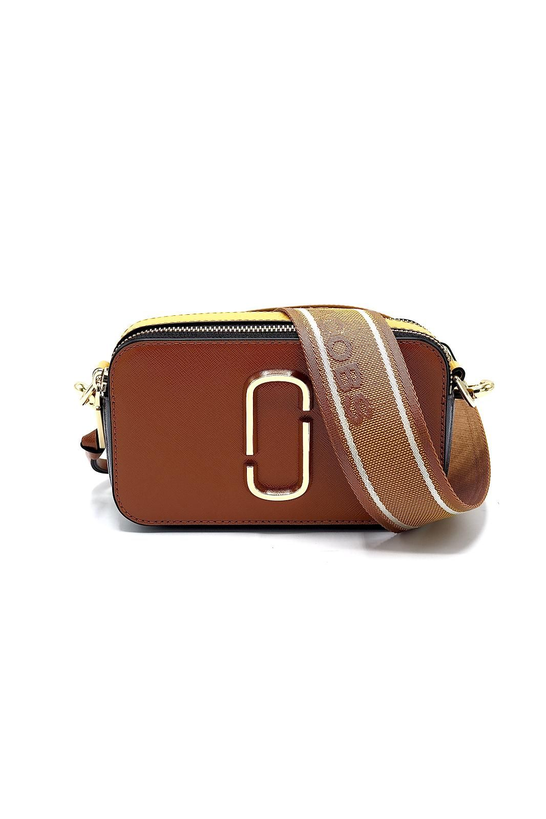 Marc Jacobs sac ocre femmes (MJACOBS-Snapshot SaddleBrown - SNAPSHOT 21 12007-911 rouille/) - Marine | Much more than shoes
