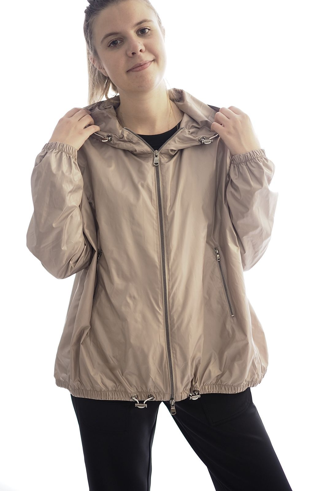 Margittes  Taupe femmes (MARGI-KWay - 46200 Coupe vent taupe) - Marine | Much more than shoes