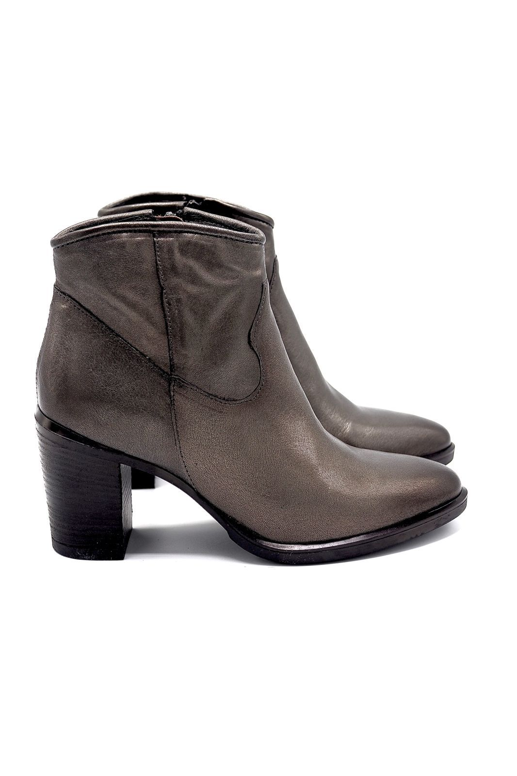 Mjus boots Bronze femmes (MJUS-Santiag T6 large bronze - 210242 Santiag métalisé bronze) - Marine | Much more than shoes