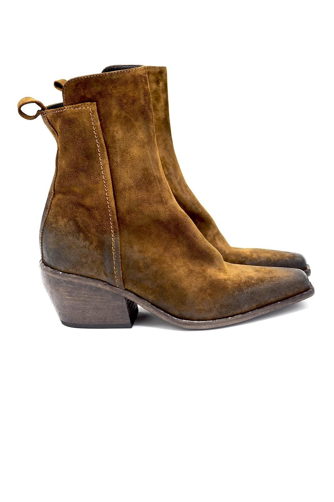 Strategia boots Brun femmes (STRA-Santiag  - 2660 Santiag cognac) - Marine | Much more than shoes